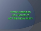 Jack Holden's 80th Birthday Celebration_2