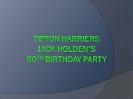 Jack Holden's 80th Birthday Celebration_2
